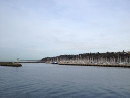 We passed a marina full of sailboats. , P K K - January 2013
