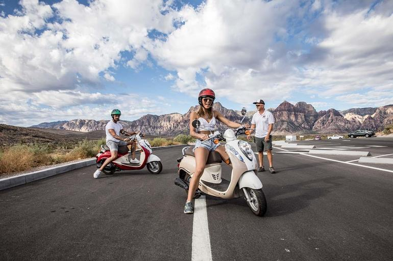 Scooter Tour in Red Rock Canyon