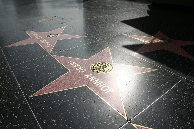 Stars on the floor - Los Angeles