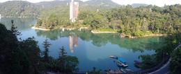 This is a panoramic view taken from the main balcony of Fleur de Chine hotel in the morning , Alastair S - October 2014