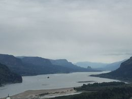 Gorgeous view of the Columbia River Gorge at the end of the tour. , Jordan D - October 2015