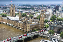 view from the London Eye , Richard E - November 2016