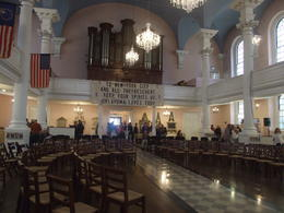 St. Paul's Chapel Opened its doors to support the responders and clean-up. , Nana - April 2017