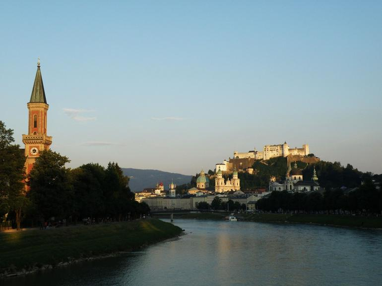 A beautiful sunset view of Salzburg - Salzburg
