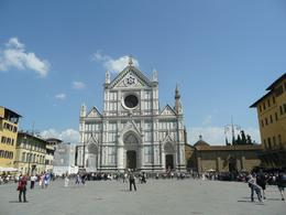 Basilica of Santa Croce in Florence, Philippa Burne - July 2011