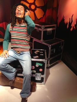 Bob Marley, Trina Tron - July 2014