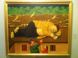 One of Botero's most famous paintings - the death of Pablo Escobar., Bandit - September 2012