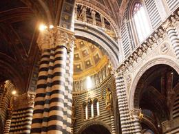 Inside the Siena cathedral , Suzan - June 2012