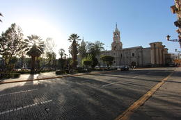 Main cathedral of Arequipa, Bandit - July 2014