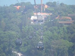 Sentosa island cable car , wilson - May 2011