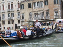 Please note that all the Gondola's huddle in one area to hear one person sing. Not as expected at all. , Denny - June 2012