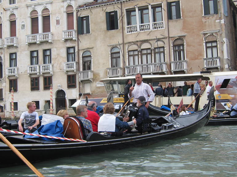 Gondola Singing - Venice