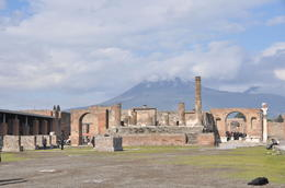 Vesuvius in Background , Antonio T - March 2012