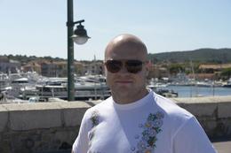 Me at the port - September 2009