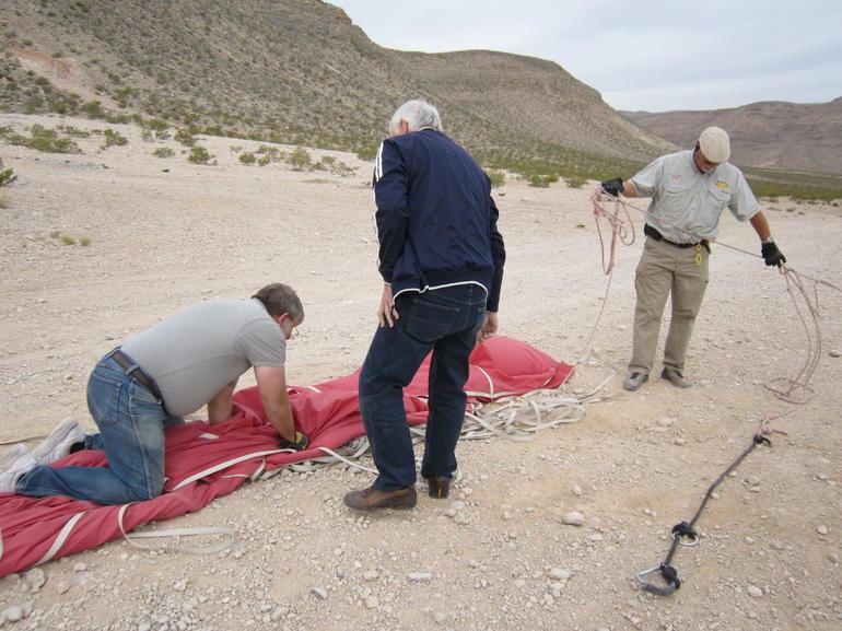 Putting the balloon away - Las Vegas