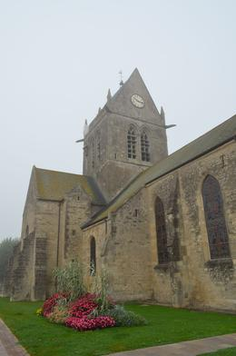 Tour of American Sites--Church at Sainte Mere Eglise , Elizabeth W - October 2014