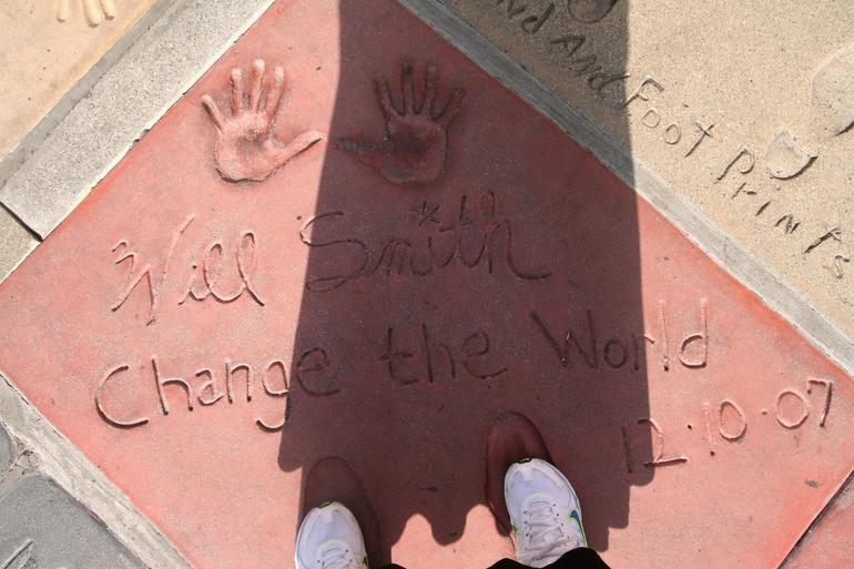 Stars Footprints - Los Angeles
