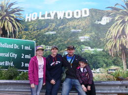 Bree Helen Paul and Jade, chilling out getting a pic for our collection at Universal Hollywood , Helen-Maree B - January 2013