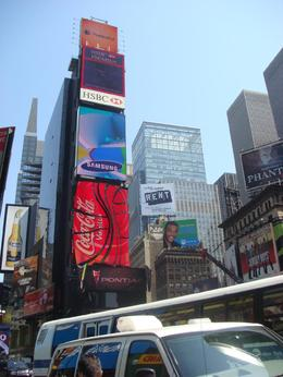Times Square NYC. - April 2008