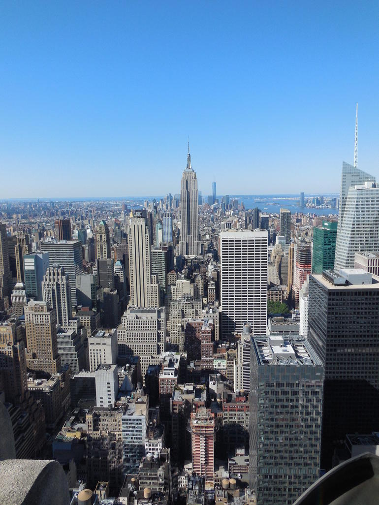 Vue sur l'Empire state - New York City