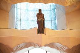 Inside of Sagrada Familia , Anthony - February 2017