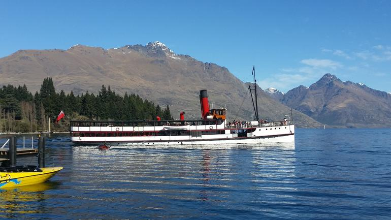 Lunch at Walter Peak High Country Farm and Cruise from Queenstown photo 11