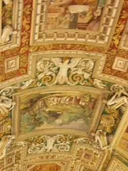While you cannot take pictures in the Sistine Chapel or use a flash anywhere in the Vatican, you can get some marvelous shots in Raphael's Rooms and St. Peter's Basilica. As beautiful as this ... , SharonW - May 2011