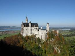 View of Neuschwanstein from Marienbrucke , KT - November 2011
