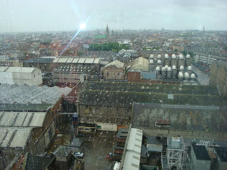 A view from gravity bar - Dublin