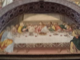 Another Last Supper painting, this one in the Chapel as part of our tour. , Thomas M - May 2015