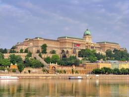 View of Buda Royal Palace - December 2011