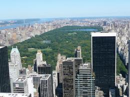 Taken from the top of the Rockefeller Center facing north to central park., Francine A - September 2008