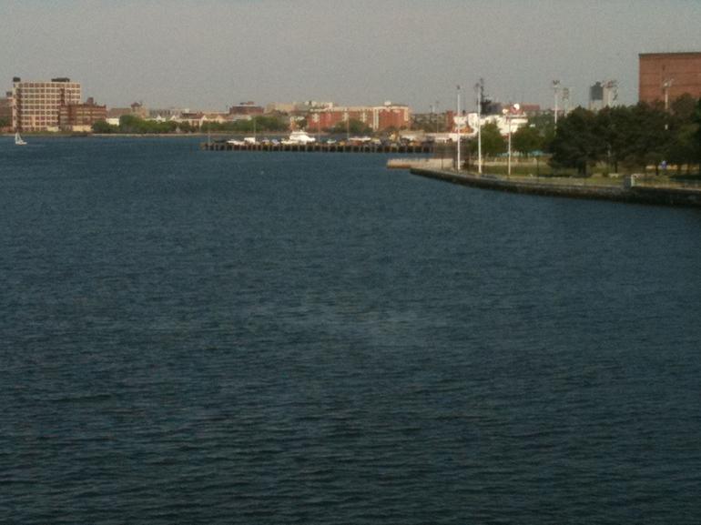 Charles River, looking east - Boston