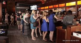 In Adain and Steve's bar, New York., Danielle C - June 2010