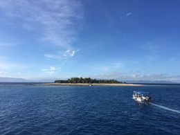 Making a stop on the way to the Yasawa's. , Michael - July 2015