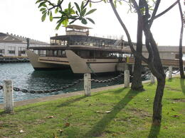Picture of the boat before we set sail., Bandit - February 2011