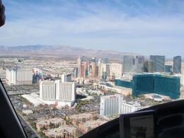 Just took off...view over Vegas, Lorraine C - November 2009