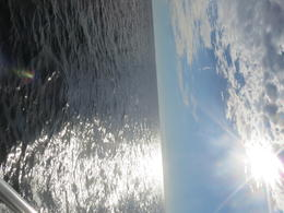 Out at sea.... , Justina S - October 2012