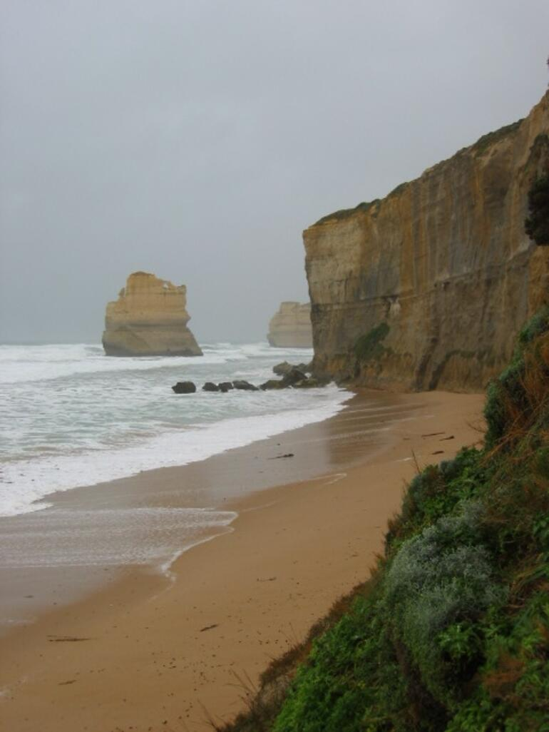 Just below the 12 Apostles - Melbourne