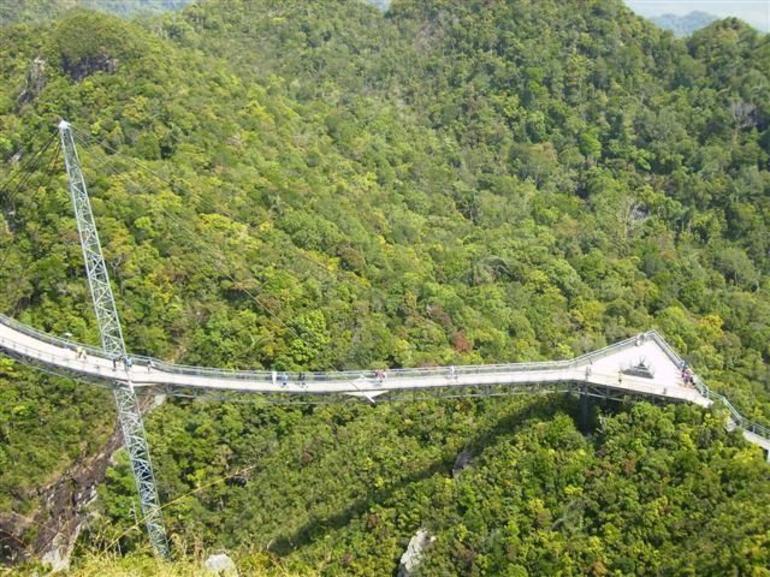 Looking down to bridge - Langkawi