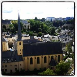 Luxemburg city , sonia v - August 2014