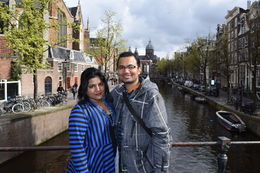 Near Canal on this walking tour , RAHUL S - May 2015