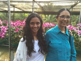 Mom and Daughter with good memory! , Krishnakumar S - April 2015
