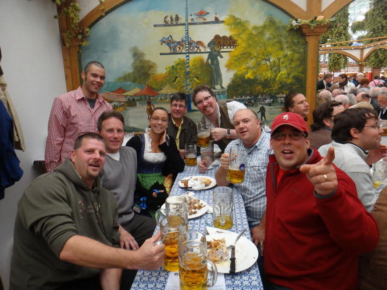 Our Group Photo - Munich