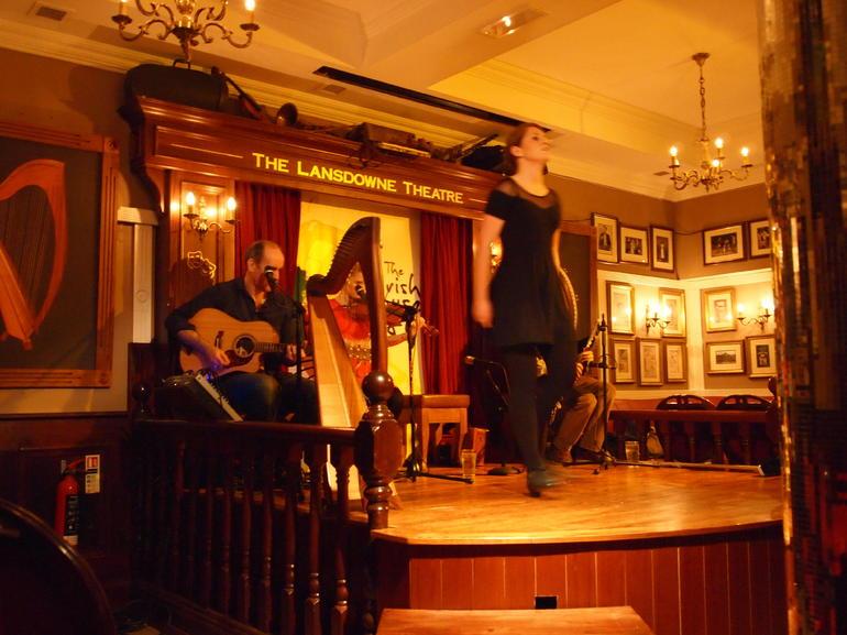 Traditional Irish dancing - Dublin