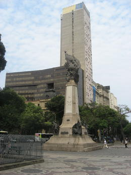 Plaza in downtown Rio., Bandit - September 2011