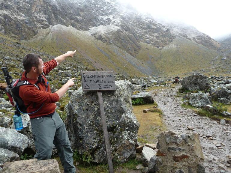Salkantay is thata way! - Cusco