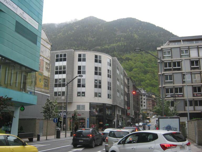 scenic Andorra - Barcelona