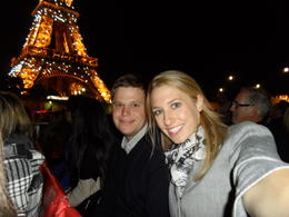 Enjoying the view on the Seine cruise! , Ryan - September 2012