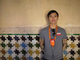 We loves all the colorful tiles, Laura All Over - August 2014